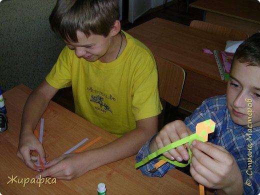 Готовимся к школе. Закладки по мотивам берестяного плетения. фото 3