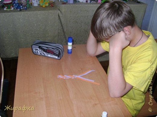 Готовимся к школе. Закладки по мотивам берестяного плетения. фото 5