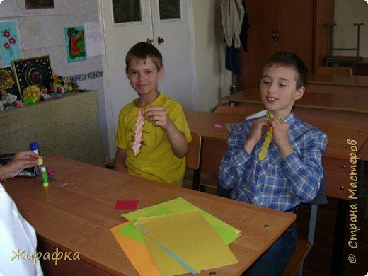 Готовимся к школе. Закладки по мотивам берестяного плетения. фото 8