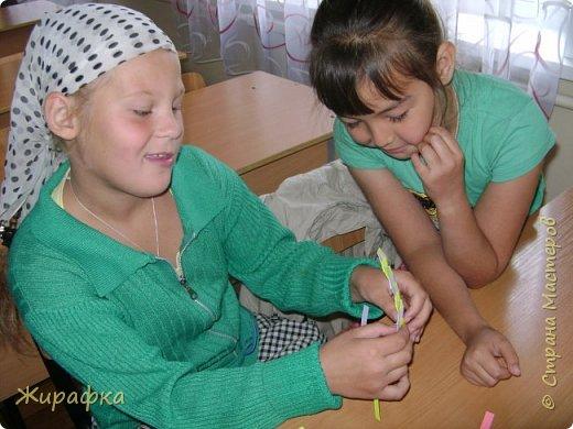 Готовимся к школе. Закладки по мотивам берестяного плетения. фото 10