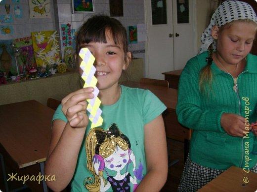 Готовимся к школе. Закладки по мотивам берестяного плетения. фото 13