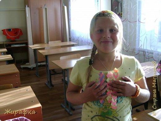 Готовимся к школе. Закладки по мотивам берестяного плетения. фото 19