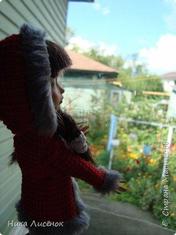 Приветствую жителей СМ!!! Сегодня я и моя модель Чериз продемонстрируем такое пальто.  фото 10