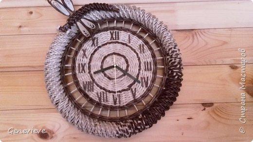 Часы в деревенском стиле фото 2