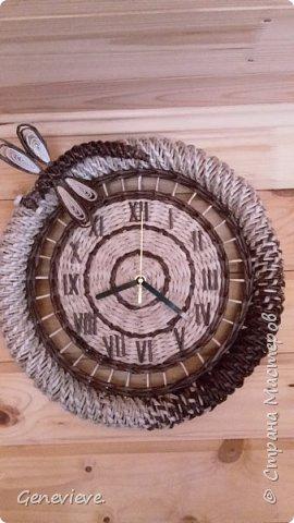 Часы в деревенском стиле фото 1