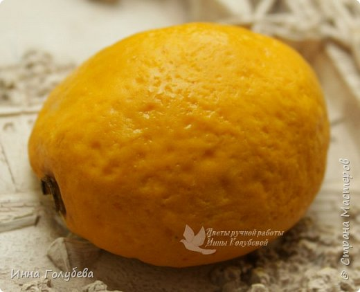 Девочки,я сегодня к вам не с цветочками,а с вкусненьким) Вот такую половинку апельсинки лепила первый раз. Вдохновил лимон Женечки Волосовой! Самой очень захотелось попробовать. Конечно,есть огрехи,но планирую еще и половинку лимона,на ней уже буду исправляться) фото 3