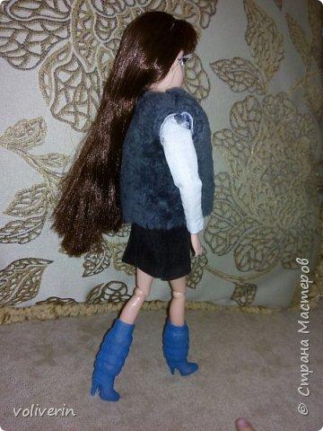 Я снова дорвалась до шитья, моя Эбби богатеет с каждым днём. Пока идеи не кончается, гардероб будет пополнятся фото 4
