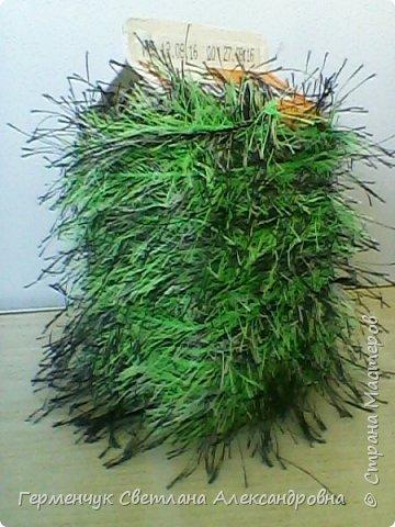 Домик из ниток травка фото 3