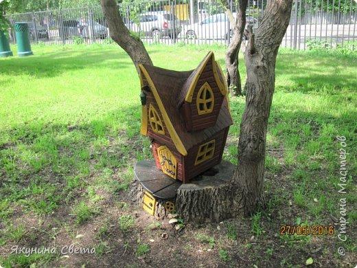 Еще одна композиция нашего двора. фото 3