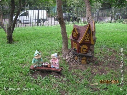 Еще одна композиция нашего двора. фото 9