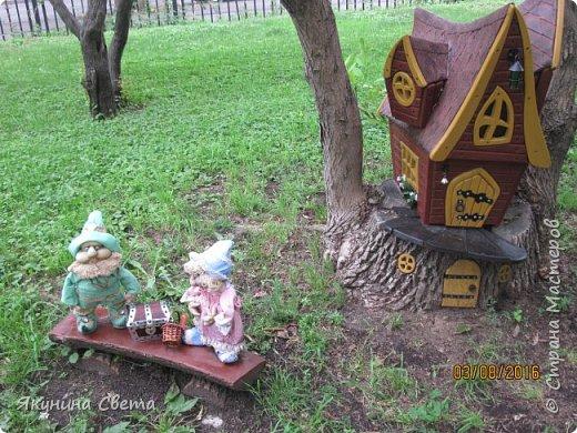 Еще одна композиция нашего двора. фото 1