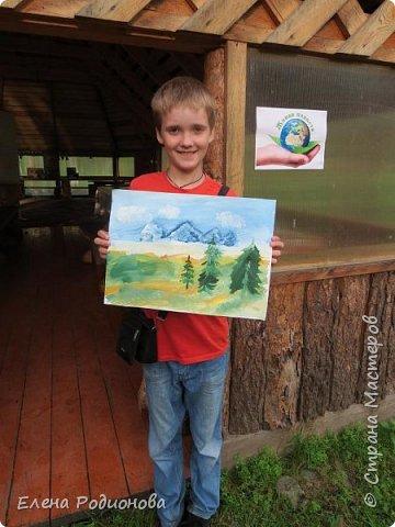 """Эту сказочную картину можно увидеть на горе Синюха в республике Алтай. А побывали мы здесь благодаря проведённой в Горном Алтае выставке """"Живая планета"""". фото 29"""