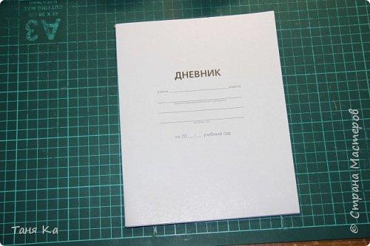 Школьный дневник в новой обложке. МК фото 3