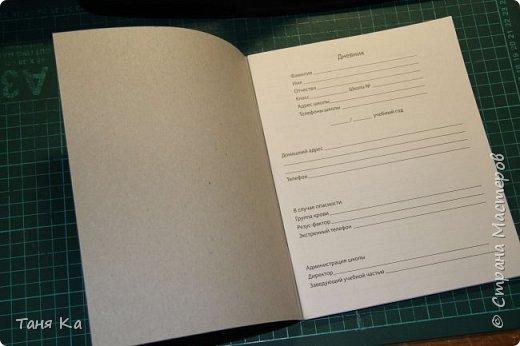 Школьный дневник в новой обложке. МК фото 4