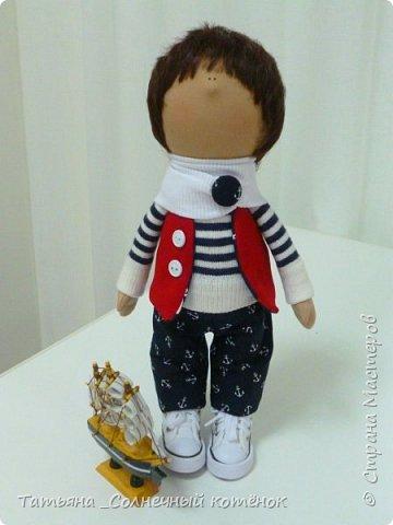 Текстильная куколка-мальчик Матвей фото 1