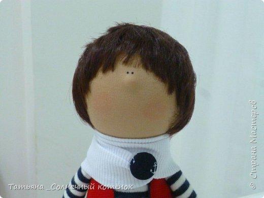 Текстильная куколка-мальчик Матвей фото 2