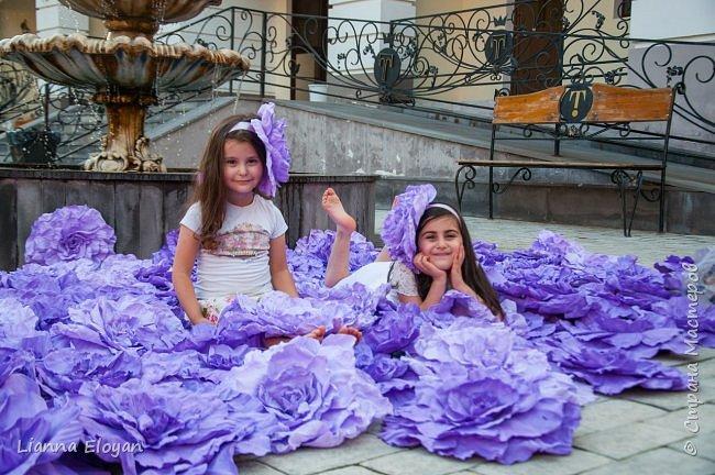 Цветы  с диаметром 45см 120штук  для фотопроекта Анастасии Панеевой  https://vk.com/paneeva фото 13