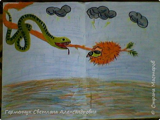 Это рисунки моих талантливых  ребят (3-4 класс),Костя Н.,Егор Л. фото 11