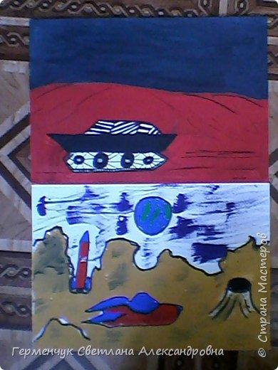 Это рисунки моих талантливых  ребят (3-4 класс),Костя Н.,Егор Л. фото 1