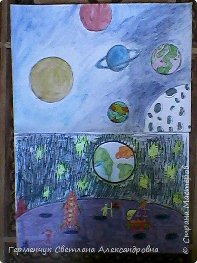 Это рисунки моих талантливых  ребят (3-4 класс),Костя Н.,Егор Л. фото 3
