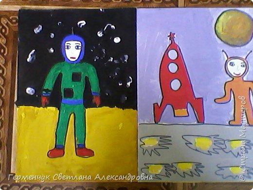 Это рисунки моих талантливых  ребят (3-4 класс),Костя Н.,Егор Л. фото 2