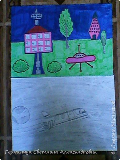 Это рисунки моих талантливых  ребят (3-4 класс),Костя Н.,Егор Л. фото 4