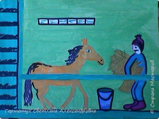 Это рисунки моих талантливых  ребят (3-4 класс),Костя Н.,Егор Л. фото 9