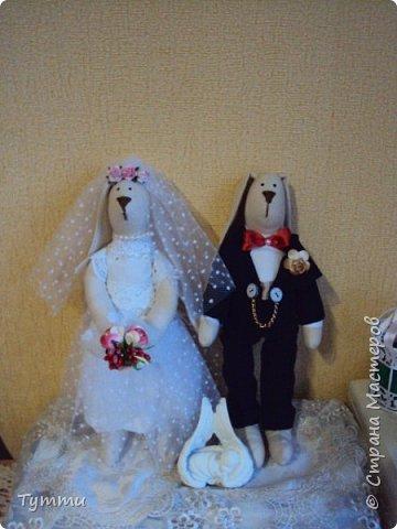 Дорогие друзья выставляю на ваш суд первую свою работу, моя хорошая знакомая выходит замуж в сентябре и попросила сделать для неё вот такой наборчик к свадьбе... фото 12