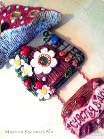 Здравствуй, Страна!  Продолжаю тырить идеи у Оленьки Родионовой. По-моему,эти домики я сповторюшничала с её работ...если я ошиблась,поправьте) фото 12