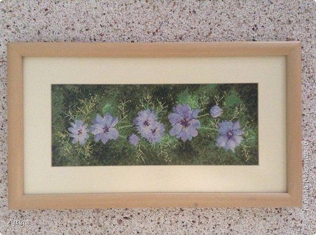 Сегодня покажу картины с цветочными мотивами.Первая- подсолнухи.К сожалению фото загружаются ,, лёжа,,, а у меня они висят вертикально. фото 9