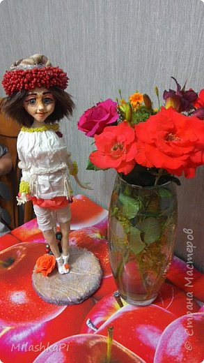 Каркас сделан из проволоки,глазки пластик,ну и глина)) фото 7