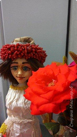 Каркас сделан из проволоки,глазки пластик,ну и глина)) фото 1