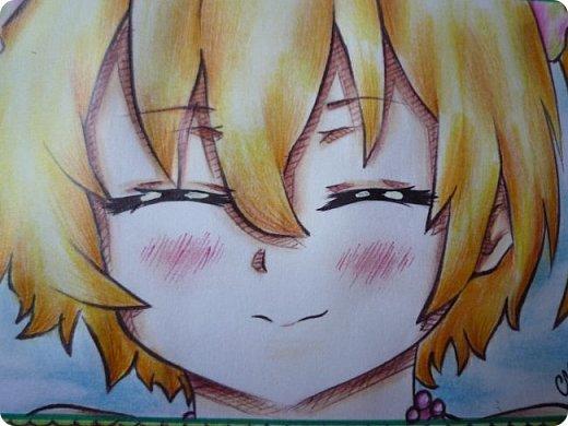 """Знакомьтесь! Это - Идзуми Сена, персонаж аниме """"Любовная сцена""""   Думаю, многим анимешникам известен такой стиль - две картинки, одна под другой, один и тот же персонаж, только разные эмоции или движения. фото 4"""
