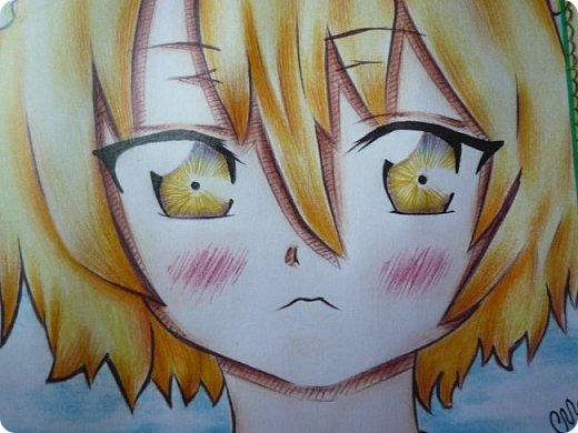 """Знакомьтесь! Это - Идзуми Сена, персонаж аниме """"Любовная сцена""""   Думаю, многим анимешникам известен такой стиль - две картинки, одна под другой, один и тот же персонаж, только разные эмоции или движения. фото 5"""