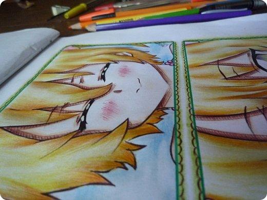 """Знакомьтесь! Это - Идзуми Сена, персонаж аниме """"Любовная сцена""""   Думаю, многим анимешникам известен такой стиль - две картинки, одна под другой, один и тот же персонаж, только разные эмоции или движения. фото 10"""
