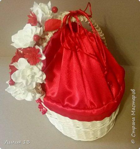 Корзинка для подарков. фото 4