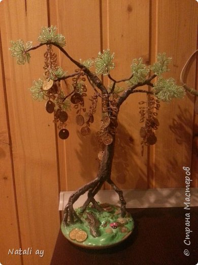 панно из соленого теста и денежное дерево фото 4
