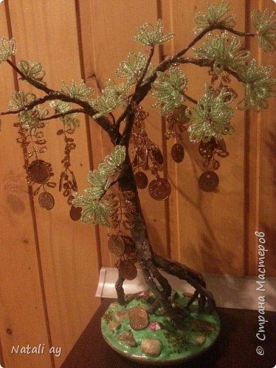 панно из соленого теста и денежное дерево фото 5