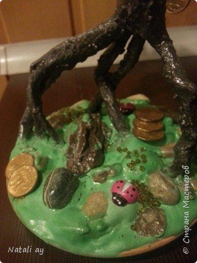 панно из соленого теста и денежное дерево фото 6
