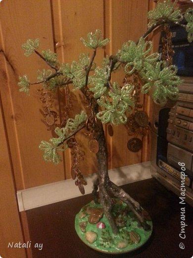 панно из соленого теста и денежное дерево фото 7