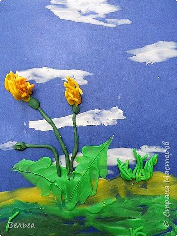 Пластилиновая живопись(детское творчество)