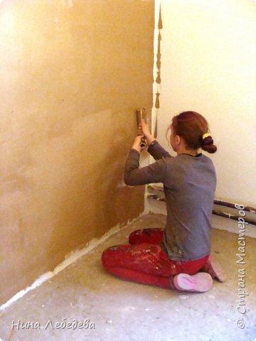 Оформила стены в новом доме у друзей... фото 8