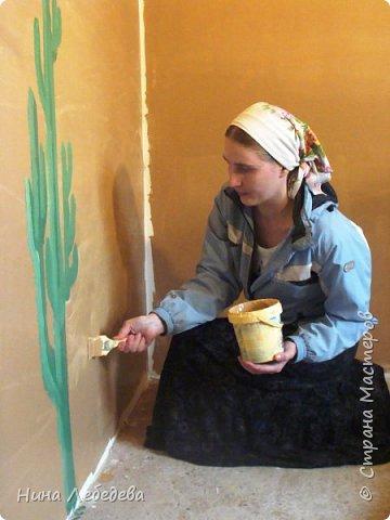 Оформила стены в новом доме у друзей... фото 9
