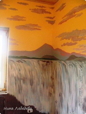 Оформила стены в новом доме у друзей... фото 3