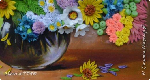 Букет полевых цветов фото 4