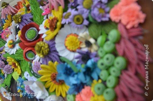 Букет полевых цветов фото 5