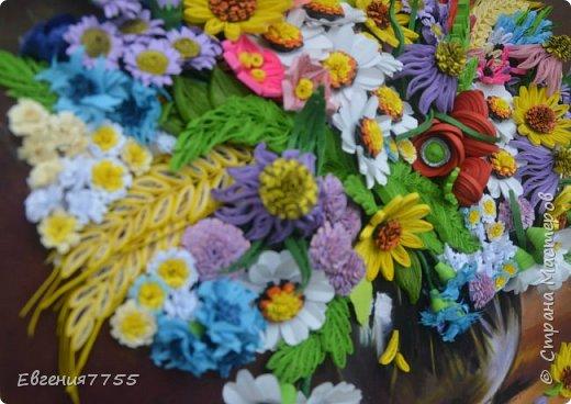 Букет полевых цветов фото 7