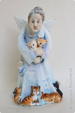 Кукла интерьерная-Ангел Бабушка фото 1