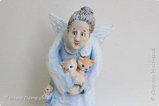 Кукла интерьерная-Ангел Бабушка фото 3