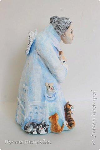 Кукла интерьерная-Ангел Бабушка фото 4